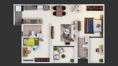 2BHK-Top-View