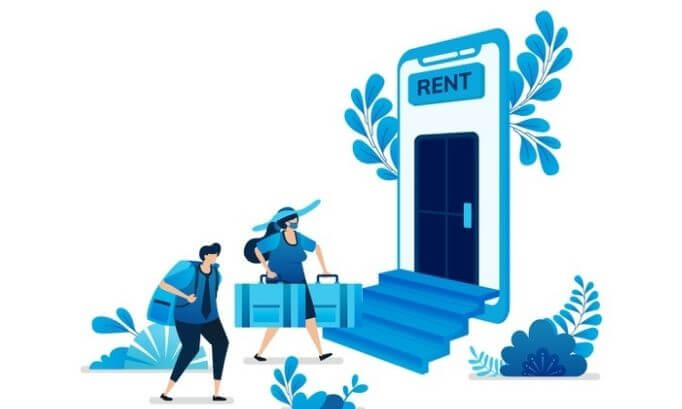 Go for a lower rented house